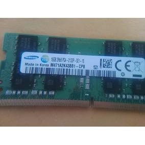 Memoria Ram Ddr4 16gb - Frecuencia 2133. Solo Para Laptop