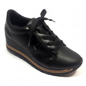Tênis Dakota Sneaker Sola Alta Preto - G0911