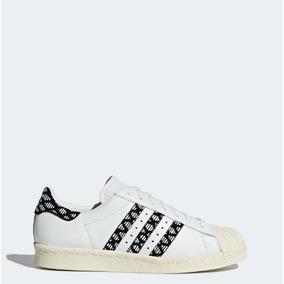 sports shoes 5549b 02290 adidas Tenis Superstar 80s W Blanco Mujer Originales Nuevos