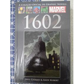 Encadernado Salvat Marvel 1602 Neil Gaiman Capa Dura