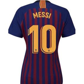 Jersey Barcelona Mujer 2019 Local Dama Lionel Messi Env Grat a758314ac37