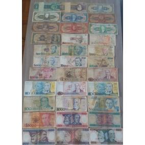 33 Cédulas De Dinheiro - Notas Antigas - Frete Grátis Cod02