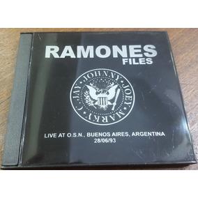Ramones Live At Obras Sanitarias 28/06/93 Cdr. Bad Religion