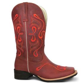 Bota Texana Feminina Havana - Sapatos no Mercado Livre Brasil 347c8181452