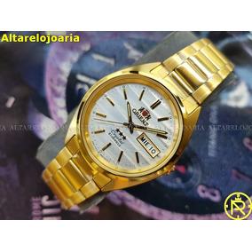 6d714abf22b Relogios Orient Dourado - Relógio Orient Masculino no Mercado Livre ...