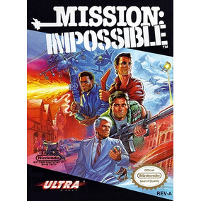 Pôster Video Game Nintendo Nes Konami Missão Impossível