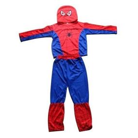 Fantasia Infantil Homem Aranha Pronta Entrega