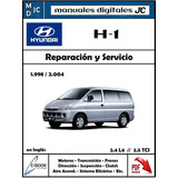 Manual Taller Hyundai H1 98-04 2.4 L4 Y 2.5 Tci Original