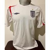 Camisa Inglaterra Umbro 2006 - Futebol no Mercado Livre Brasil 20f7042b28ef2