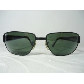 6b9827927f0f3 Rayban Rb3189 006 61-16 Leather De Sol - Óculos no Mercado Livre Brasil