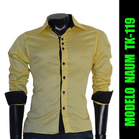 Camisas Social Naum - Camisa Social Manga Longa Masculinas no ... 01aa6eb511849