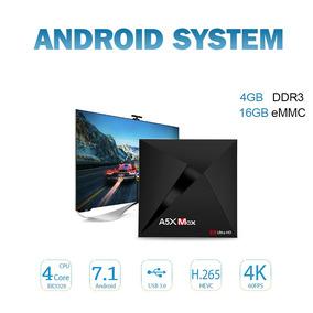 Caixa Topo Definir Inteligente Caixa Rk3328 16gb Da Tv