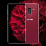 Samsung Galaxy S9+ Rojo Burgundy Limited Edition Estetica 10