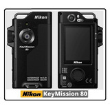 Câmera Nikon Keymission 80 Bluetooth Wifi Micro Sd Nova