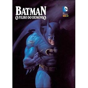 Batman O Filho Do Demônio Edição De Luxo Panini Novo Lacrado