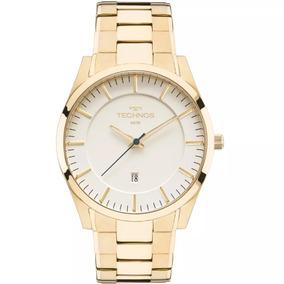 37c9a07ce181d Relogio Techno Slim Masculino Dourado - Relógio Technos no Mercado ...