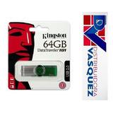 Memory Flash Kingston 64gb Datatraveler 101