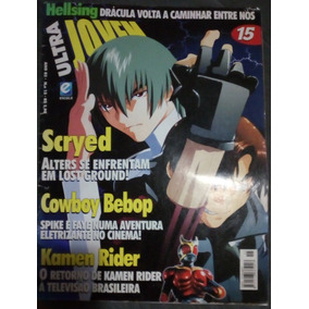 Revista Ultra Jovem Nº 15 Kamen Rider + Pôster Dragon Ball Z