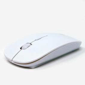Mouse Mumuso Inalambrico Ultra Delgado Blanco