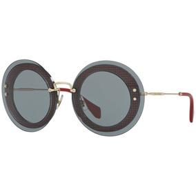 f4297d9039f87 Oculos Miu Miu Transparente De Sol - Óculos no Mercado Livre Brasil