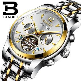 0c23fbeab82 Relogio Binger Masculino - Relógio Masculino no Mercado Livre Brasil