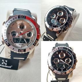 Kit 2 Relógios Digital Analógico Readeel