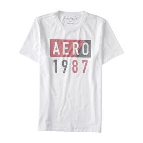 Camisetas Casuais Aeropostale X/g Originais Stretch Oferta