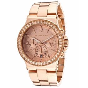 2041834e59924 Relógio Michael Kors Rose Transparente Réplica - Joias e Relógios no ...