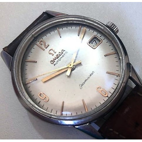 7ec72a53a70 Relogio Omega Seamaster Duplo Calendario Antigos Colecao - Relógios ...