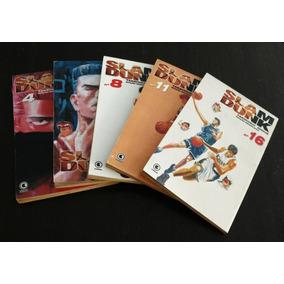 Slam Dunk - Volumes 4, 6, 8, 11 E 16 (ed. Conrad) - Mangás