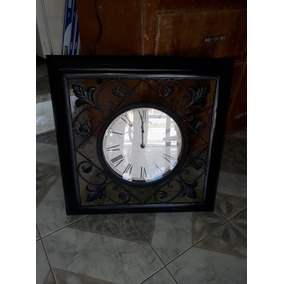 Reloj De Pared De Herreria 60 Cm X 60 Cm