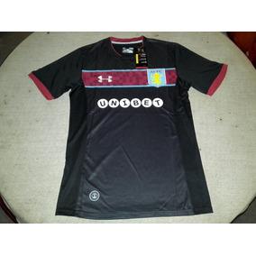 Camiseta Aston Villa Suplente 2017-18 Original Under Armour