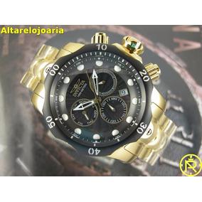 e95b0edbb86 Relogio Invicta Fundo Preto - Relógios no Mercado Livre Brasil