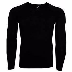 Camisa Térmica Kanxa Manga Longa Preta ae70606c1eb96