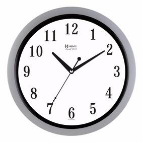 fbcc5d833a3 Relogio Parede Branco E Prata - Relógios no Mercado Livre Brasil
