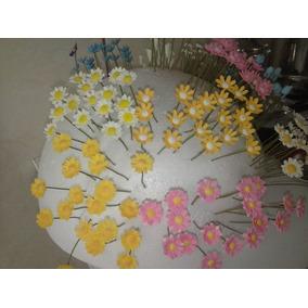 Micro Flores Campo,em Biscuit P/cenario Maquetes,jardim