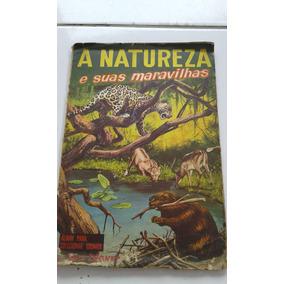 Álbum A Natureza E Suas Maravilhas Incompleto Ler Descrição