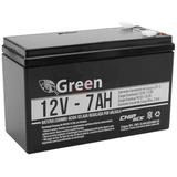 Bateria Selada 12v 7ah Green Chip P/ Alarme/no Break/ Cercas