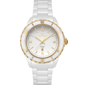 b52dba7d0fc Relogio Feminino De Ceramica Branco - Relógios De Pulso no Mercado ...