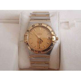 5e1d45dade63 Reloj Omega Constellation Perpetual Calendar Oro Solido 18k