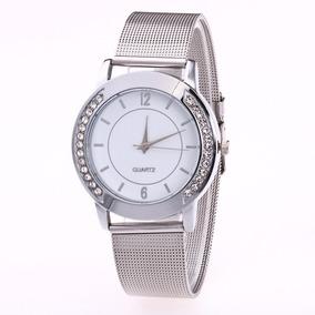 4d79cd0ed0d Relogio Quartz Prateado Avon Novo De Luxo Feminino - Relógios De ...