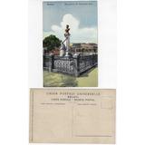 fbd5fc8637e Amazonas Anos 1910 Cartão Postal Monumento Sant-anna Manaus
