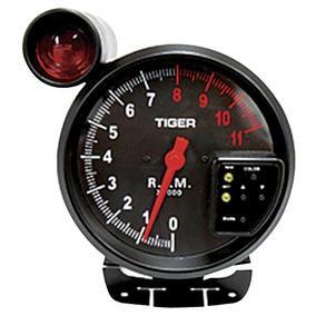 Contagiro Rpm Esportivo Led 10 Cores Shift Light 125mm Auto
