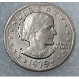 Moneda Estados Unidos One Dollar Susan B Anthony 1979 P