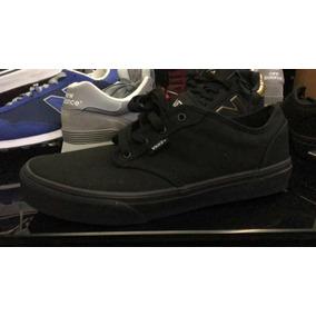 8a2fab43fb06dd Zapatos Vans Negro Clásicos Originales Nuevos
