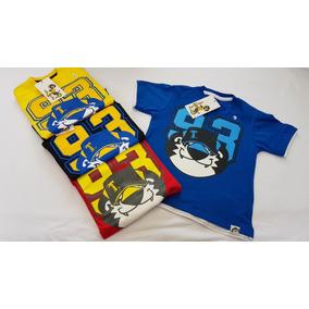 Kit Com 50 Peças Camisetas Tigor T.tigre Atacado. 934f15fa028