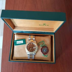 Rolex Gmt Master Ii Oro Y Acero Modelo Tigereye