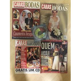 Lote De 04 Revistas Casamentos/casais + Cd .