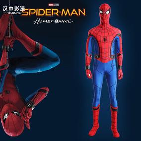 Spiderman Homem Aranha Luxo, Não É 3d Cosplay Fantasia