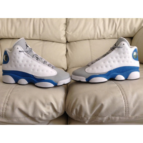 Tenis Air Jordan Retro 13 Xiii Italy Blue Del 23.5mx